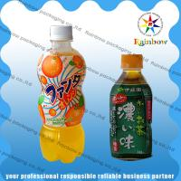 China PET / PVC Automatic Heat Shrink Sleeve Labels With Customized For Drink Bottle wholesale