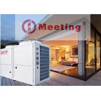 China MD100D-EVI 36.8kw Air To Water Heat Pump R32 Refrigerant House Heating System & Outlet Water 55 Degree on sale
