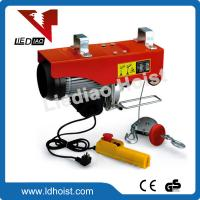 China 200kg Mini Wire Rope Electric Hoist on sale