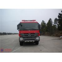 China Mercedes Chassis Fire Fighting Vehicles Monitor Flow 100L/S Overturning Type Cab wholesale