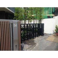 China Retractable Automatic Collapsible Gate Trackless For Residential Area wholesale