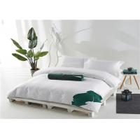 China Hotel Bedding Set 100% Cotton Satin White And 400T Personalized wholesale