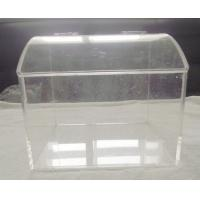 Quality Non-Toxic Clear Acrylic Bakery Display Case With Electrical Insulation for sale