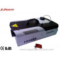 China 1500W LED Halloween Fog Machines With 8*3W 3 In1 RGB LEDs DMX512 Control  X-024D wholesale
