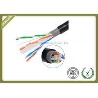 China Outdoor Cat6 UTP Cable Double Jacket , 305 Meters / Roll Optical Ethernet Cable wholesale