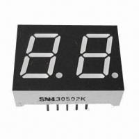 "China 7 Segment LED Display, 0.50"", Dual-digit, Used for Digital Indicators and Numeric Displays wholesale"