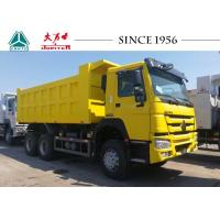 China 40 Tons HOWO Dump Truck With Hydraulic System , Small Heavy Duty Dump Truck wholesale
