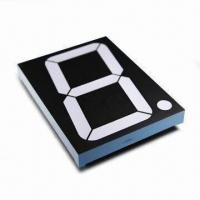 """China 7 Segment LED Display in Red, CC, 5.0"""" Single Digit for Rate Screen Display wholesale"""