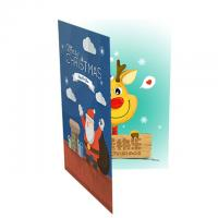 China AG3/AG10 Battery Musical Happy Birthday Card Sound Personalized For Party Invitations wholesale