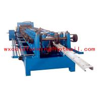 China High Frequency PLC CZ Purlin Roll Forming Machine With Gear Box Transmission wholesale