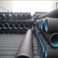 China High quality and cheap DN110mm black HDPE Corrugated water Pipe wholesale