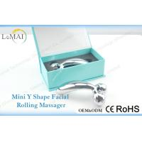 Quality Silver Beauty Care Skin Facial Massager For Christmas Gift , ABS + Zinc Alloy for sale