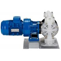 China Air Operated Pneumatic Diaphragm Pumps for toxic and volatile fluid transfer PP housing on sale