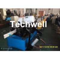 China 120mm Diameter Roller Shutter Forming Machine With Hydraulic Cutting TW-RSD85 wholesale