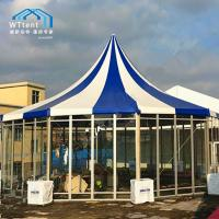 China Colorful Glass Circus High Peak Tent Temporary Structure For Trade Events on sale