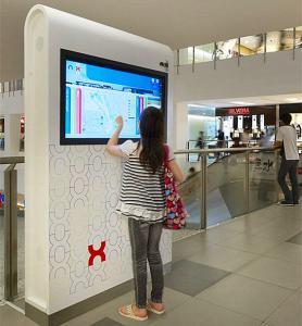 China Multi Language Interactive Wayfinding Kiosk / Self Service Terminal CE Approved wholesale