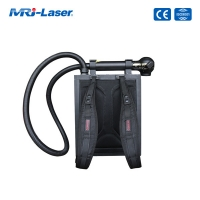 China 100W Backpack Portable Laser Cleaning Rust Removal Machine wholesale