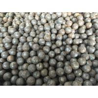 China Grade 45 60Mn B2 Forged Steel Ball 20mm - 110mm For Grinding Mine / Ore wholesale