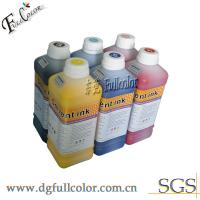 China Water - proof 1L Per Color Eco Solvent Ink For Epson DX4 DX5 DX6 Printhead wholesale