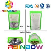 China The most fresh raw material pouch with stand up Aluminum Foil packaging with printing / Food grade packaging wholesale