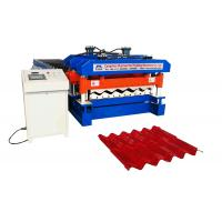 China Material Width 1220 mm Rib 40 MM  Glazed Tile Roll Forming Machine Use PPGI And GI wholesale
