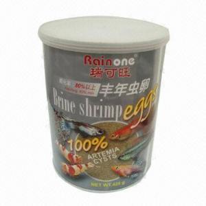 China 425g Brine Shrimp Egg with 80% Minimum Hatching on sale