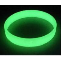 China custom glow in the dark silicone bracelet ,luminous silicone wristband price wholesale