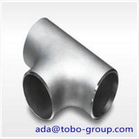 Quality 1-48 inch SCH10-XXS A403 WP321 Stainless Steel Pipe Tee ISO9001 / ISO9000 for sale