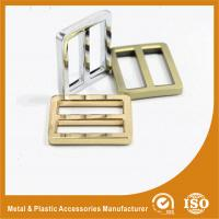 China Bag Buckle 25.6X20.3X3.6MM Adjustable Metal Zinc Buckle For Bags Or Shoes wholesale