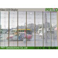 Buy cheap P7.8 P15.6Indoor Transparent LED Display Screen LED Video Glass Screen Panel from wholesalers