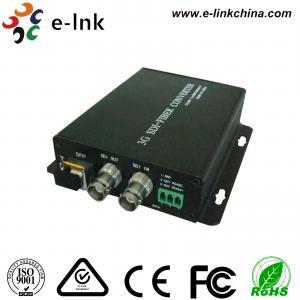 China Multimode Sdi Video Converter To Fiber Optic Converter 300 Meters Distances wholesale
