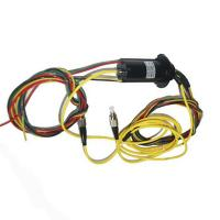 China Fiber Optic Rotary Joint Slip Ring , Light Weight And High Grade Sealing For Radar Antenna wholesale