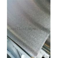 China 201 304 430 grade No.4 short satin finish stainless steel sheet could process anti-fingerprint on sale
