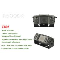 China Rear View Car Reversing Camera Waterproof With 1.3MP / 2MP Resolution , CE FCC Approval wholesale