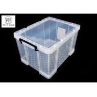 Buy cheap 70L Office Media Clear & Transparent Plastic Lightweight Robust Stackable from wholesalers