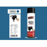 Buy cheap Lsuzu Blue Animal Marking Paint AEROPAK Brand ROHS Certificated For Sheep from wholesalers