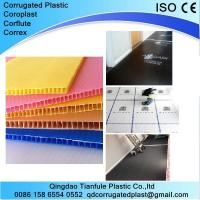 China White and Black Coreflute Sheet for Floor Protection wholesale