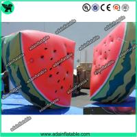 China Event Advertising Inflatable Fruits Replica Watermelon Model wholesale
