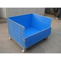 China moveable big wire iron storage cage plastic cage on sale
