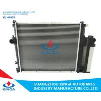 China Eco Friendly BMW Aluminum Radiator / BMW Car Radiator 132mm Core Thickness wholesale