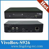 China vivobox s926 with good server iks sks digital satellite receiver for South America wholesale