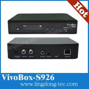 Quality vivobox s926 with good server iks sks digital satellite receiver for South for sale