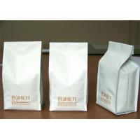 China Ceramic Quad Seal Tea Packaging Pouches Stand Up Side Gusset wholesale