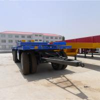 Buy cheap Goods Transportation Special Purpose Vehicle ZY Axle 40 Tons Cargo Full Trailer from wholesalers