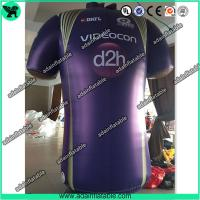 China Advertising Inflatable Cloth Replica T-Shirt Model/Sports Promotion Inflatable wholesale