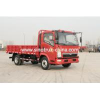 China 10 Wheels 4*2 Light Duty Commercial Trucks 116hp With Dropside Cargo Box wholesale