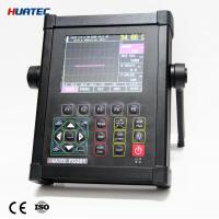 China Digital Ultrasonic Flaw Detector FD201 with 3 staff gauge Depth d , level  p , distance s wholesale