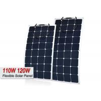 Portable Semi Flexible Frameless Mono Solar Panel For Caravan High Performance