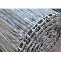 China Customized Food Grade Spiral Wire Mesh Chain Conveyor Belt For Baking on sale