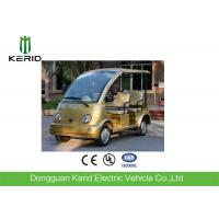 China FRP Body Curtis Controller Electric Sightseeing Car 48V AC Motor Zero Pollution wholesale